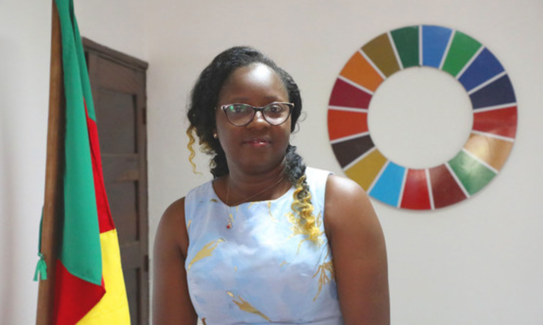 Cecile Mawe, founder and President of Jeunes en Action pour le Développement Durable (JADD), Cameroon., by JADD